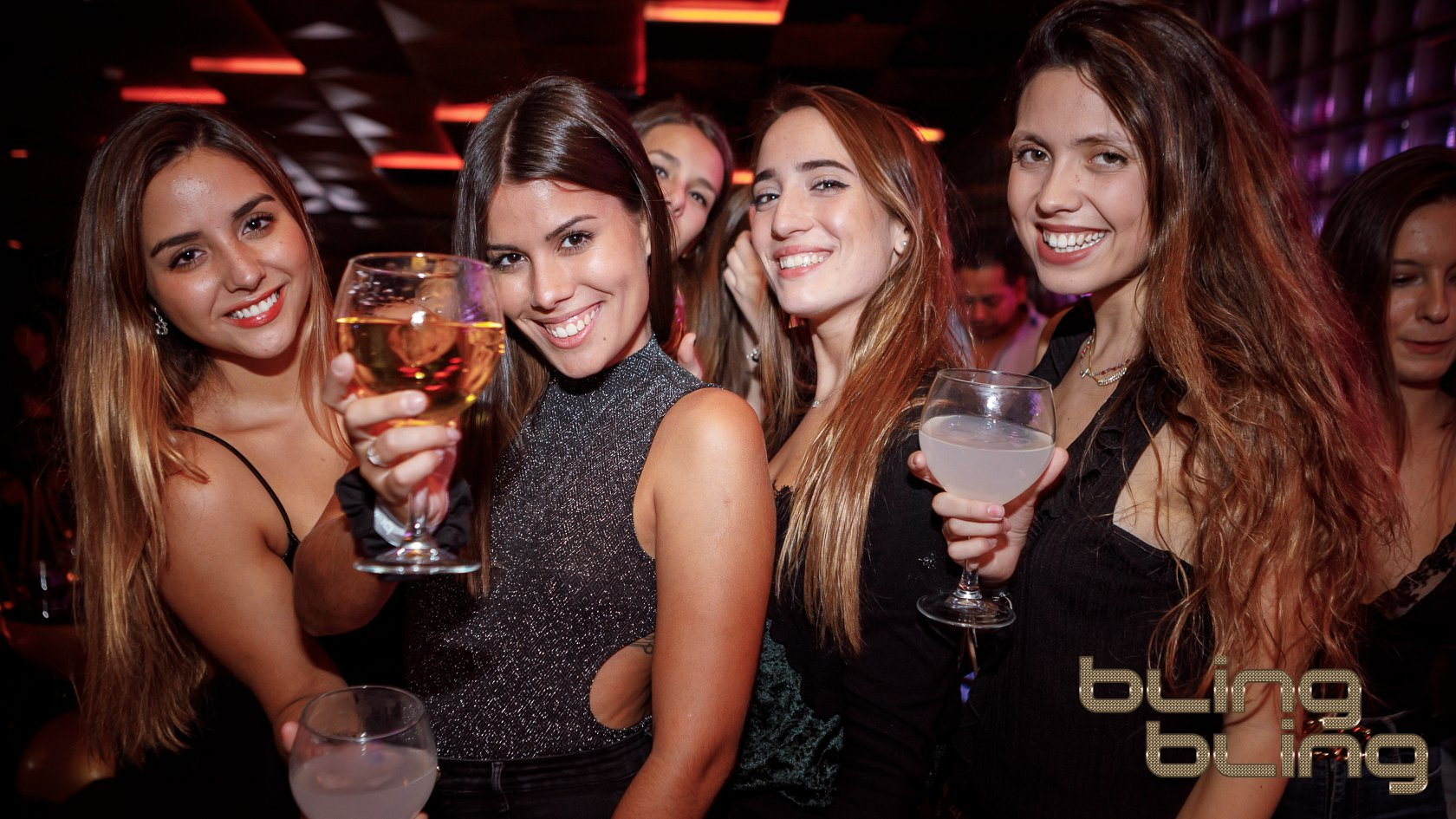 music played at bling bling barcelona